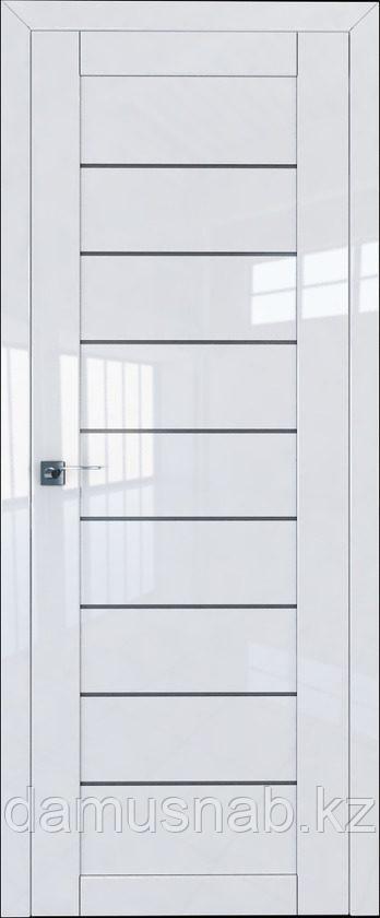 ProfilDoors Дверь межкомнатная Белый люкс 73L 2000*800 ст.графит