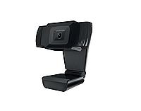 Веб-камера CBR CW 855HD Black, 1Mpix, 1280х720, USB 2.0, встроенный микрофон с шумоподавлением, фикс.фокус,