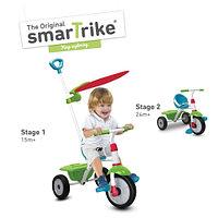 Велосипед Fun Plus Blue & Green c 15 мес. (Smart Trike, Израиль)