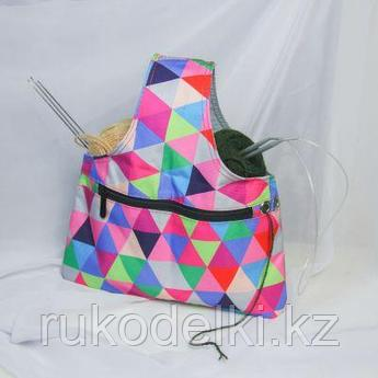 """Проектная сумка для вязания """"Project bag"""", мозаика"""