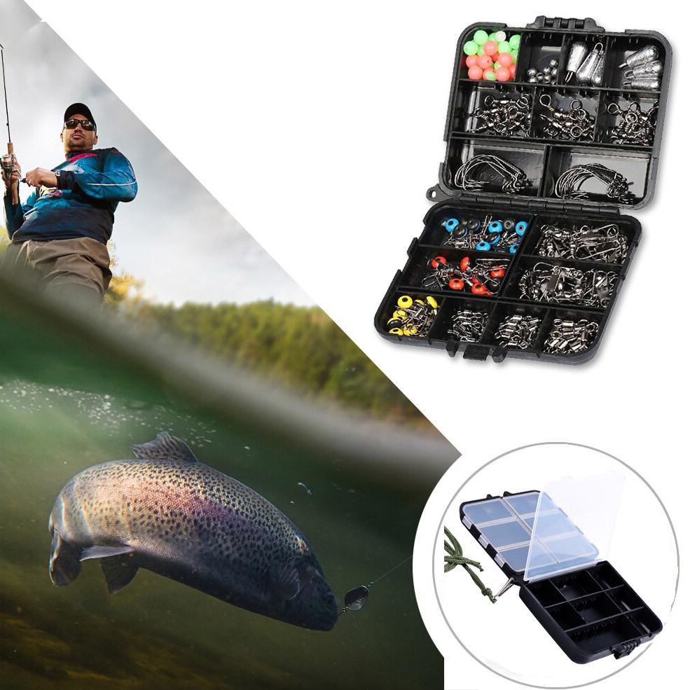 Ящик для рыболовных снастей 12х9,7х3 см черный - фото 2