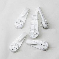 Крючки для крепления без сверления, размер Large, 2х5,5 см, 5 шт