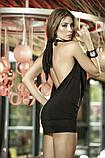 Открытое красное  платье 8240 S M L XL, фото 2