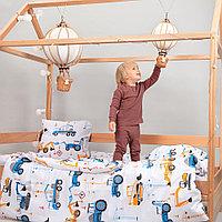 Детское постельное белье Pituso Юный строитель 160 на 80