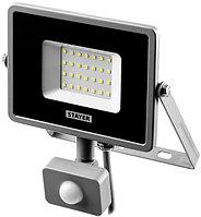 Светодиодный прожектор LED PRO 10 Вт с датчиком движения STAYER 57133-10