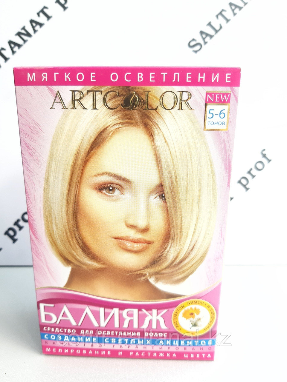 Балияж осветитель для волос 5-6 тонов