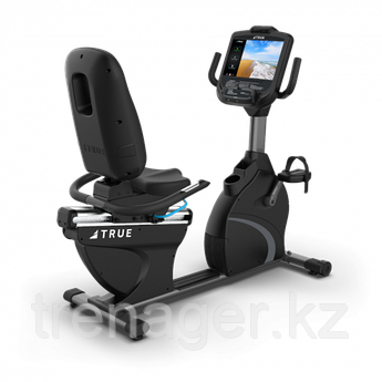 Горизонтальный велотренажер True C900 + консоль Envision