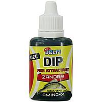Аттрактант зимний DELFI DIP WINTER GEL ZANDER (судак, берш, аромат рыба, 20 мл) tr-245666