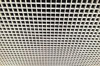 Подвесной потолок Грильято (Белый)