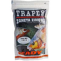 Прикормка Ready Fish mix готовая увлажненная, зимняя (рыбный микс) 750г Traper (00131) tr-77131