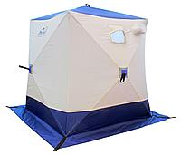 Палатка зимняя Куб 1,8х1,8х2,0м 02/04 СЛЕДОПЫТ бело-оранжевый PF-TW-02