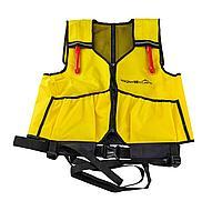 Страховочно-спасательный жилет Nikolasshop VS Atlantik, надувной, желтый inflatable_yellow