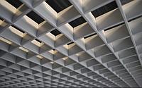 Подвесной потолок Грильято (металлик)