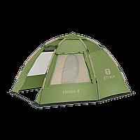 Палатка HOME 4 БЫСТРОСБОРНАЯ BTrace зеленый T0513З