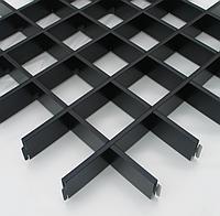 Подвесной потолок Грильято (черный)