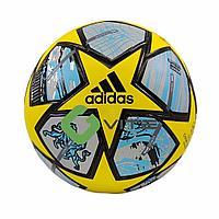ФУТБОЛЬНЫЙ МЯЧ FINALE 21 CHAMPIONS LEAGUE, yellow/blue, фото 1