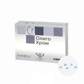 Олиго Хром (снижение холестерина) №90таб.