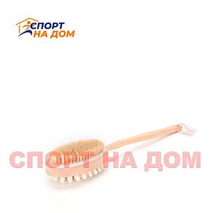 Деревянная щетка массажер для спины, фото 2