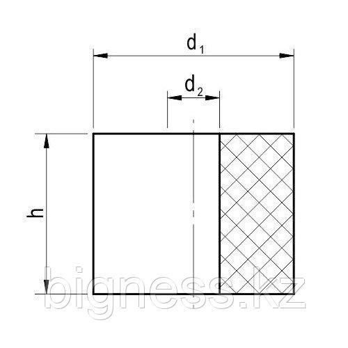 Амортизатор резиновый GP 75/25-55