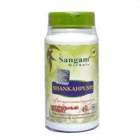 Шанкхапушпи 60 таблеток, Sangam Herbals, способствует улучшению памяти, повышению концентрации внимания
