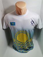 Футболки с национальным узором Казахстан