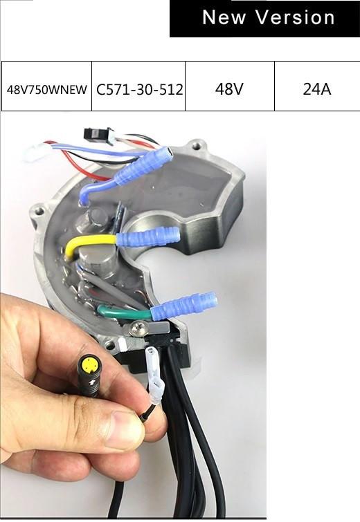 Контроллер для кареточного мотора Bafang BBS02 48v 750w