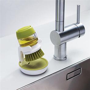 Щетка для мытья посуды с дозатором моющего средства Ликвидация склада!, фото 2