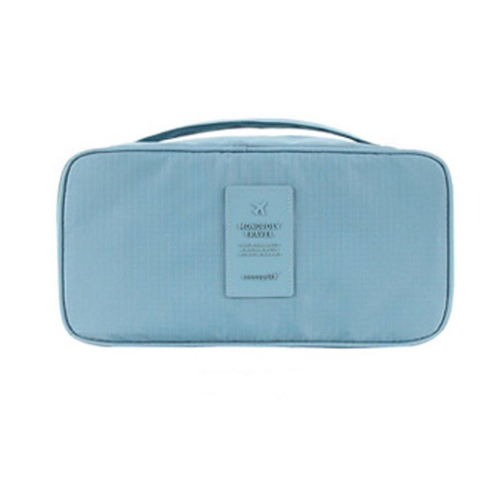 Дорожная сумка для нижнего белья 6 отделений голубая Ликвидация склада!