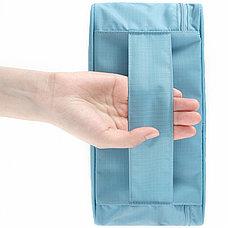 Дорожная сумка для нижнего белья 6 отделений голубая Ликвидация склада!, фото 2