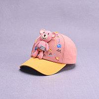 Кепка Медвежонок розовый