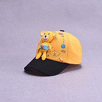 Кепка Медвежонок желтый