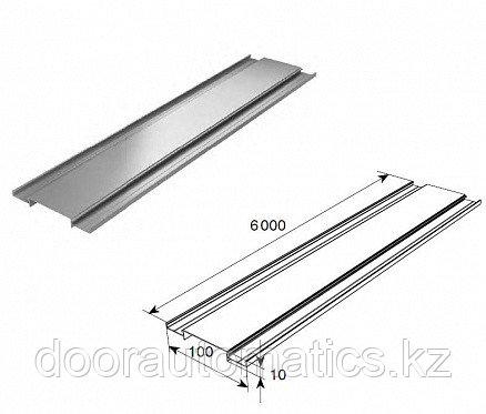 Профиль алюминиевый DHOP-10 (темный орех)
