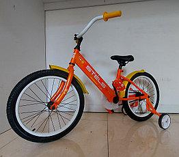 """Детский велосипед """"Stels"""" Captain 18 колеса. Kaspi RED. Рассрочка."""