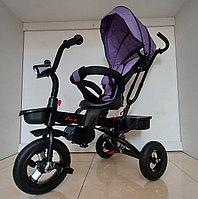 Детский велосипед трехколесный LUX с амортизатором. Рассрочка. Kaspi RED