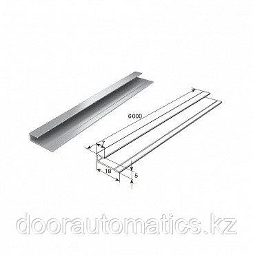 Профиль алюминиевый DHOP-04 (темный орех)