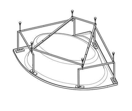 Монтажный комплект SANTEK КАРИБЫ 1WH112430 140Х140 (1WH112430)