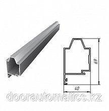 Верхний алюминиевый профиль (белый)