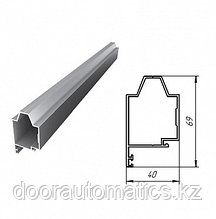 Верхний алюминиевый профиль (металлик глянцевый)