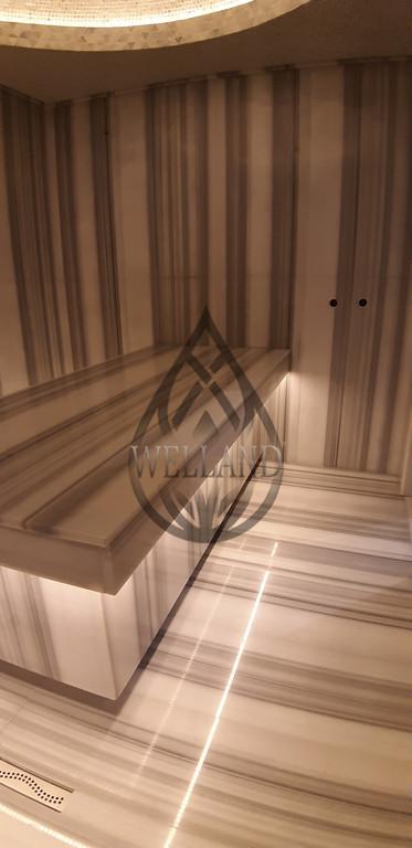 Строительство Турецкой бани (Хаммам) в частном доме. Адрес: г. Алматы, коттеджный городок Эдельвейс.