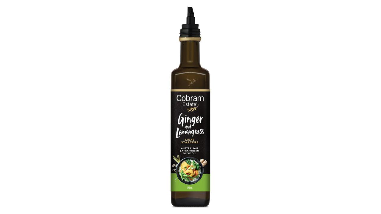 Масло оливковое COBRAM ESTATE Meal Starters Имбирь-Лемонграсс,375 мл