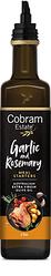 Масло оливковое нерафинированное Cobram Estate Чеснок и розмарин, класса Extra Virgin,375 мл