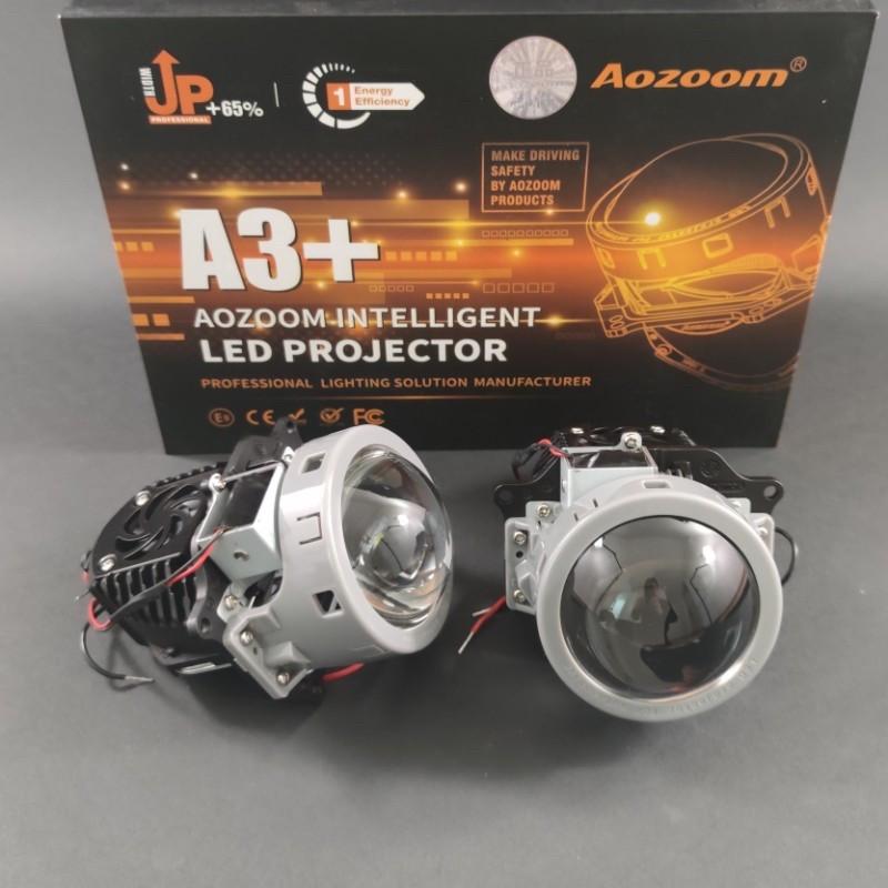 Bi-LED линзы Aozoom А3+ 3,0 дюйм, 35Вт, 4000Lm, 12В, 5500K