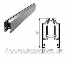 Верхний алюминиевый профиль с терморазрывом (белый глянцевый)