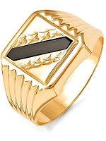 Мужская печатка Жемчужина 040139 22 золото, эмаль