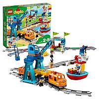 Lego 10875 Дупло Грузовой поезд