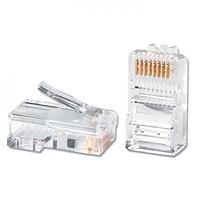 Коннектор телекоммуникационный, Ship, S901A, RJ 45, Cat.5e, UTP (100 штук в пакете)