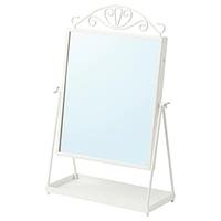 Зеркало настольное КАРМСУНД белый 27x43 ИКЕА, IKEA
