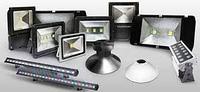 Светодиодные прожекторы для архитектурной подсветки зданий