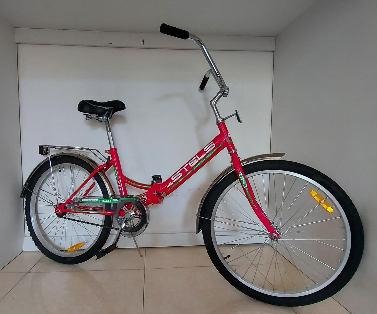 Складной велосипед Stels Pilot 710 24 колеса. Kaspi RED. Рассрочка.