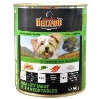 Belcando Best Quality meat with vegetable ,Белькандо банки ,влажный корм для собак из мяса c овощами , 400 гр